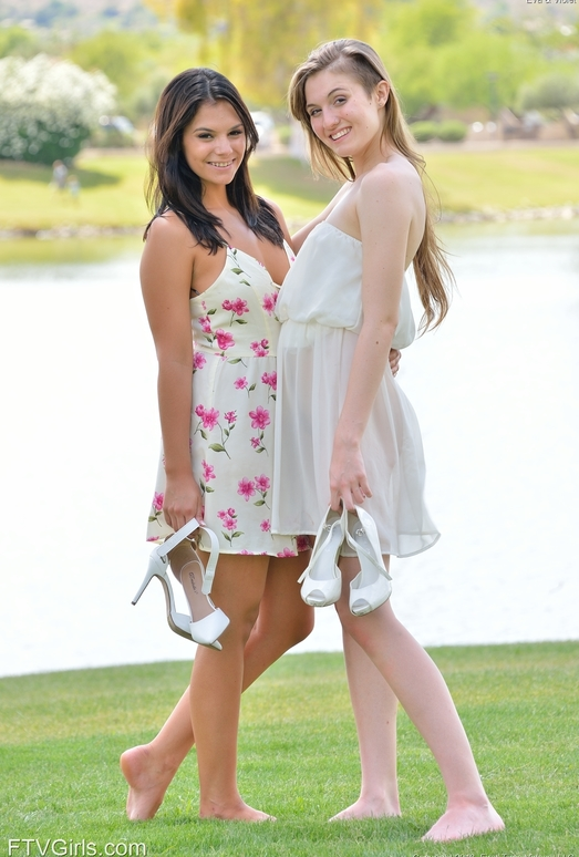 Eva and Violet - After The Wedding - FTV Girls