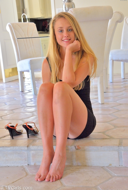 Victoria - Six Feet With Heels - FTV Girls