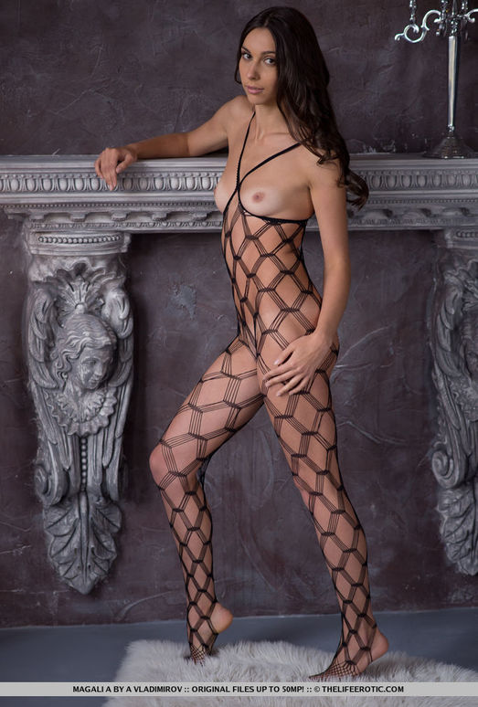 Magali A - Body Net - The Life Erotic