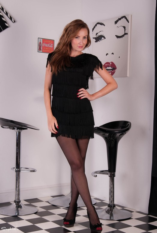 Sophia Smith - Tan Lines - Sophia's Sexy Legwear