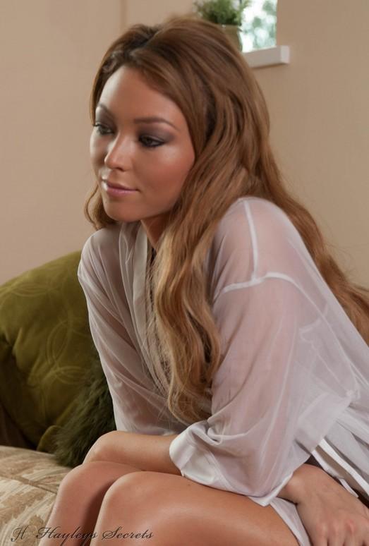Natalia Forrest - White Gown - Hayley's Secrets