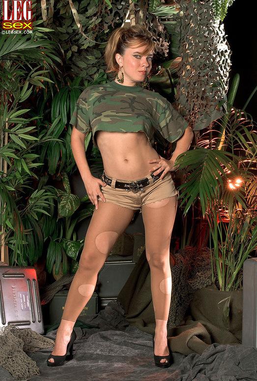 Natalia Jay - Hose Beast - Leg Sex