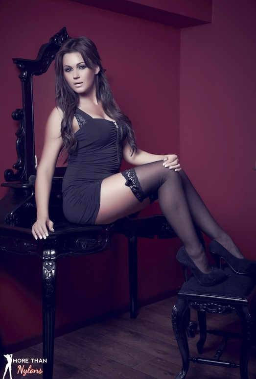 Kat Dee - Dainty, Delicate And Divine - More Than Nylons