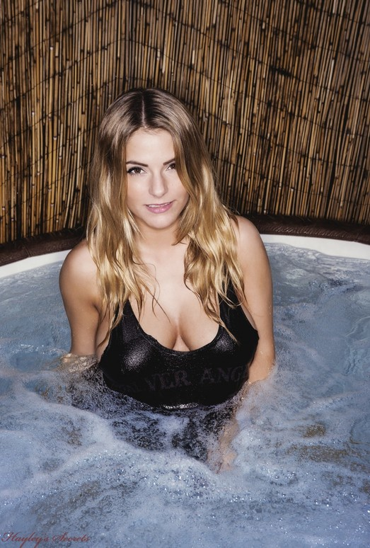 Jess Kingham - Hot Tub - Hayley's Secrets