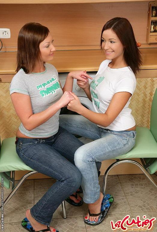 Horny Lesbians Zaria & Kamilla - Lez Cuties
