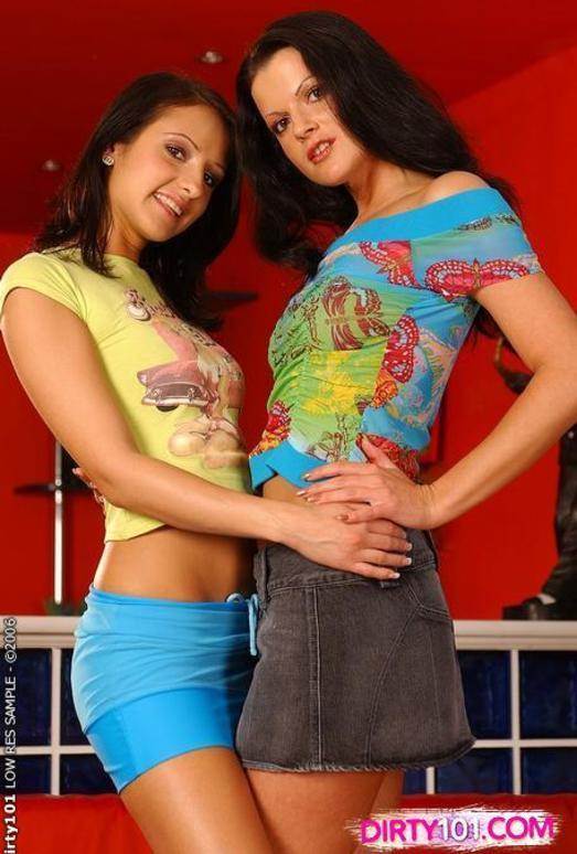 Horny Lesbians Lolli & Juditta