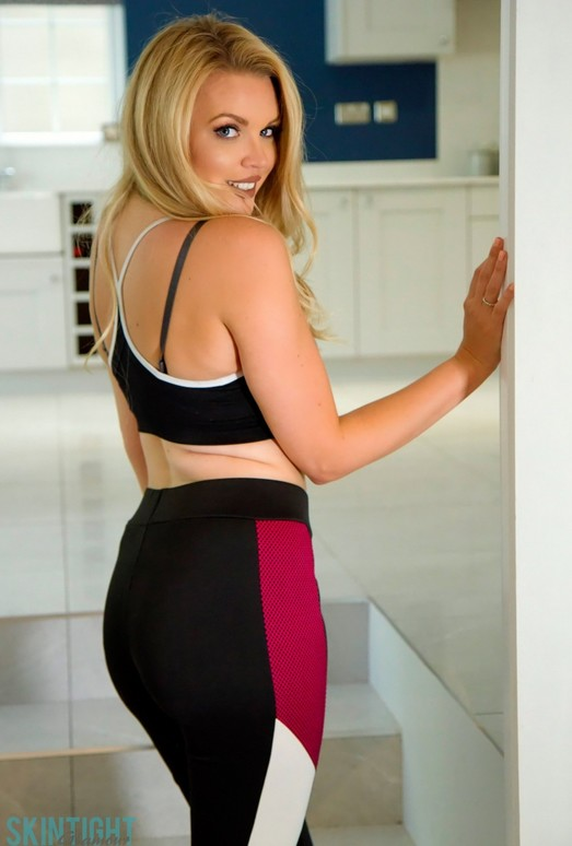 Porchia Watson - Back From The Gym - Skin Tight Glamour