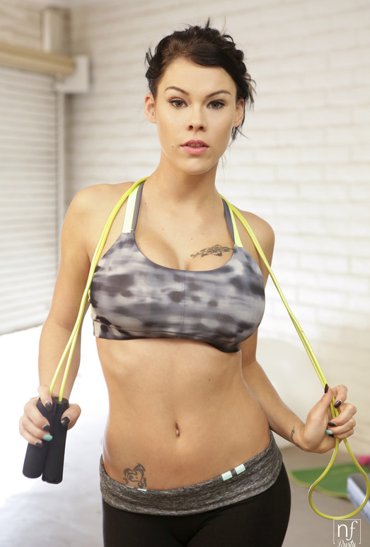 Peta Jensen, Ryan Driller - Big Boob Workout - NFBusty
