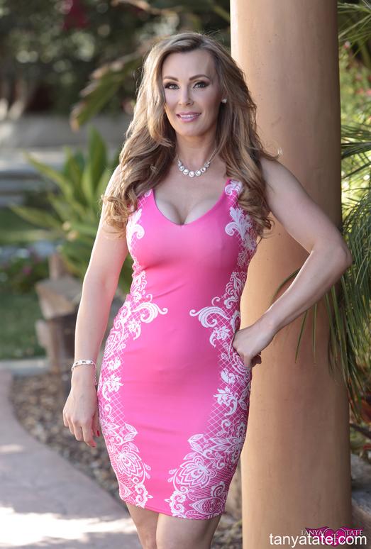 Tanya Tate - Pink Lingerie