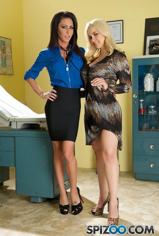 The Bill - Sarah Vendella check up nurse Jessica Jaymes