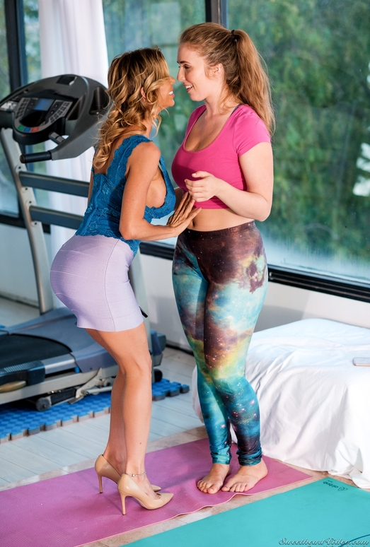 Alexis Fawx, Lena Paul - Booty Workout - Mile High Media