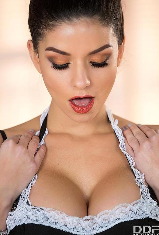 Krystal Webb - Busty Maid Gone Wild