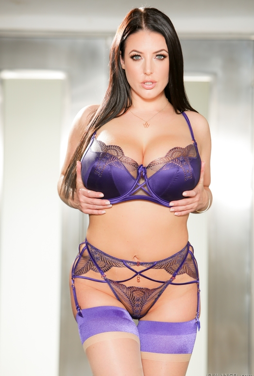 Angela White: Big-Tit Interracial Anal - Evil Angel