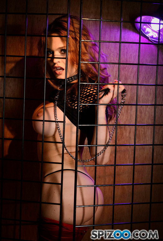 Krissy Lynn Gets Caged 4k - Spizoo