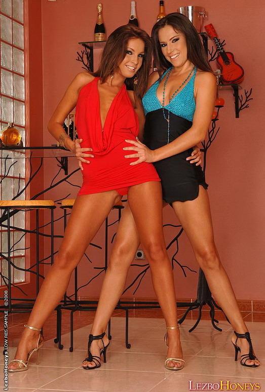 Lesbian Action with Malina & Kissy - Lezbo Honeys