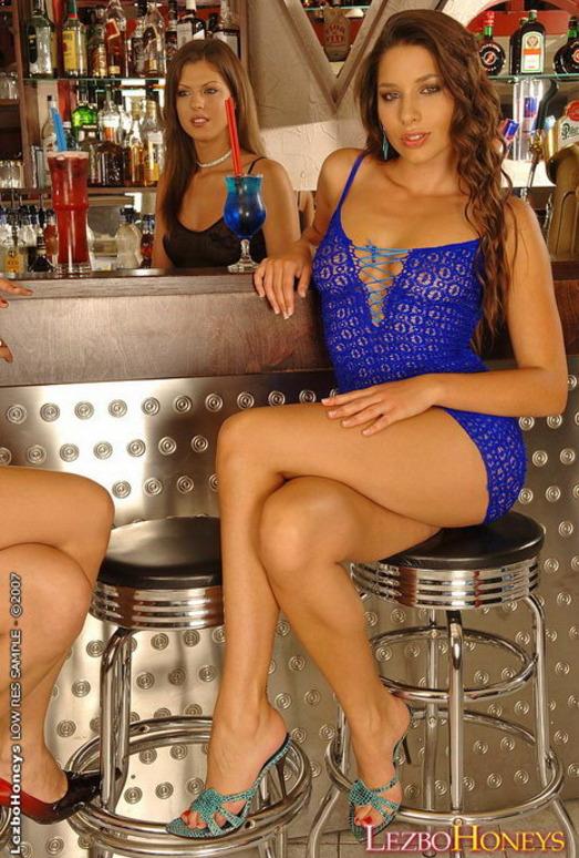 Horny Lesbian Threesome with Zafira, lara Stevens