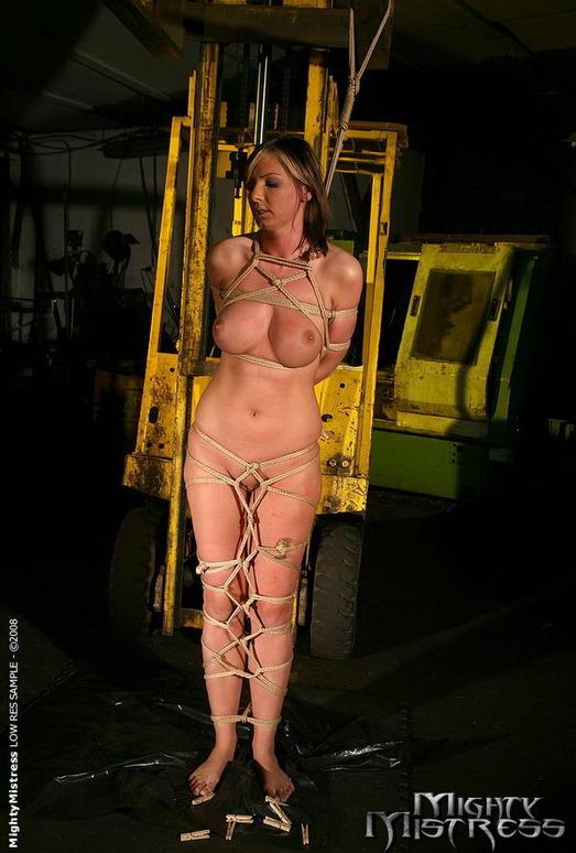 Gabriella May & Vica Ryder Lesbian Bondage - Mighty Mistress