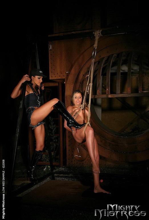 Afrodithe & Sabrina Sweet Dominatrix - Mighty Mistress