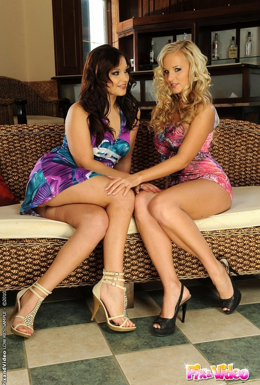 Lesbian Sex with Barbie White & Lana S