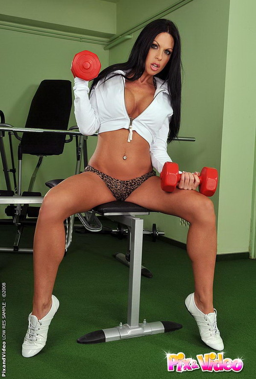 Sonya Playing with her toys