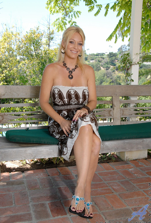 Charlee Chase - Outdoor Self Pleasure