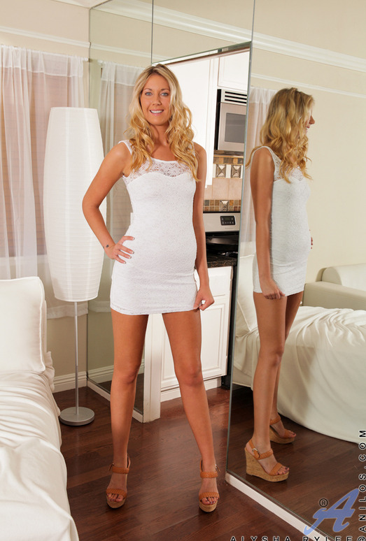 Alysha Rylee - Tight White Dress