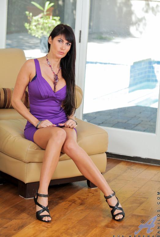 Eva Karera - Purple Panties