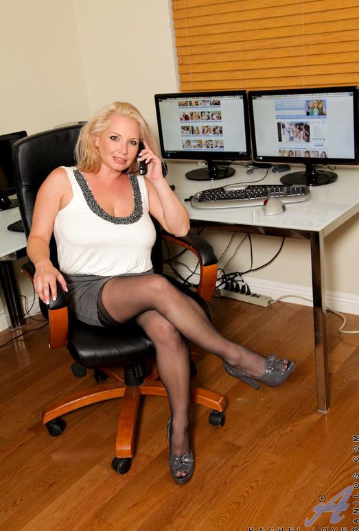 Rachel Love - Office Tits - Anilos