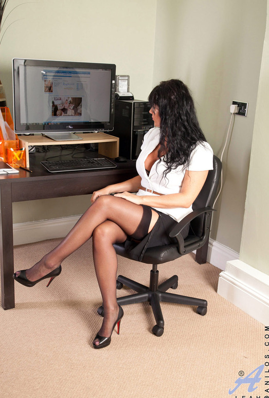 Leah - Office Play - Anilos