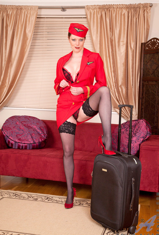 Holly Kiss - Stewardess - Anilos