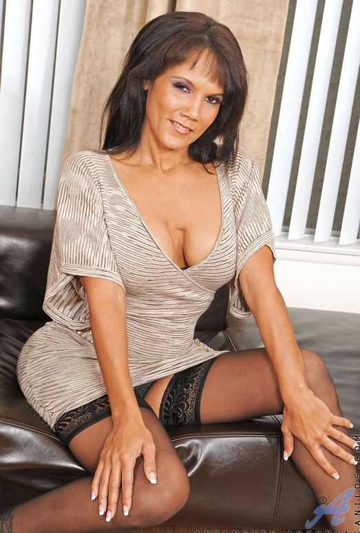 Anjanette Astoria - Black Stockings