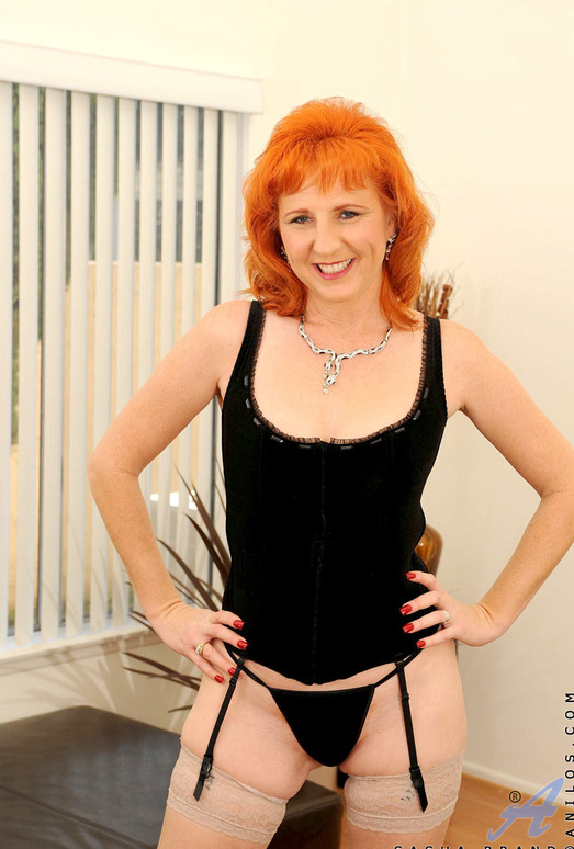 Sasha Brand - Horny Redhead