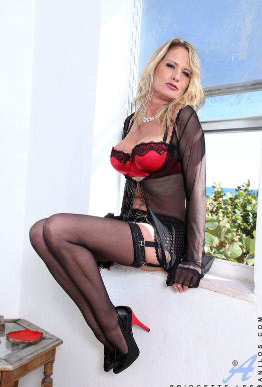 Bridgette Lee - Red Lingerie