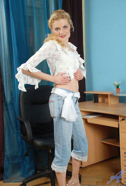 Scarlette Sax - White Dress