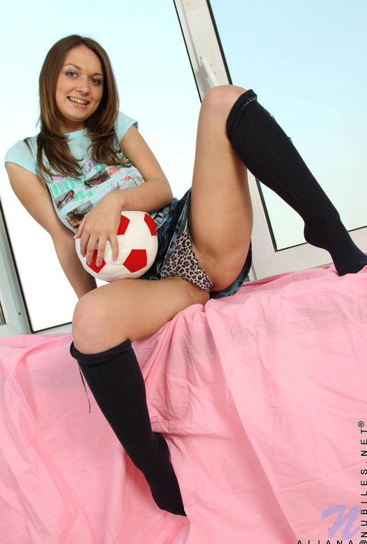 Aliana - hot teen with nice natural breasts