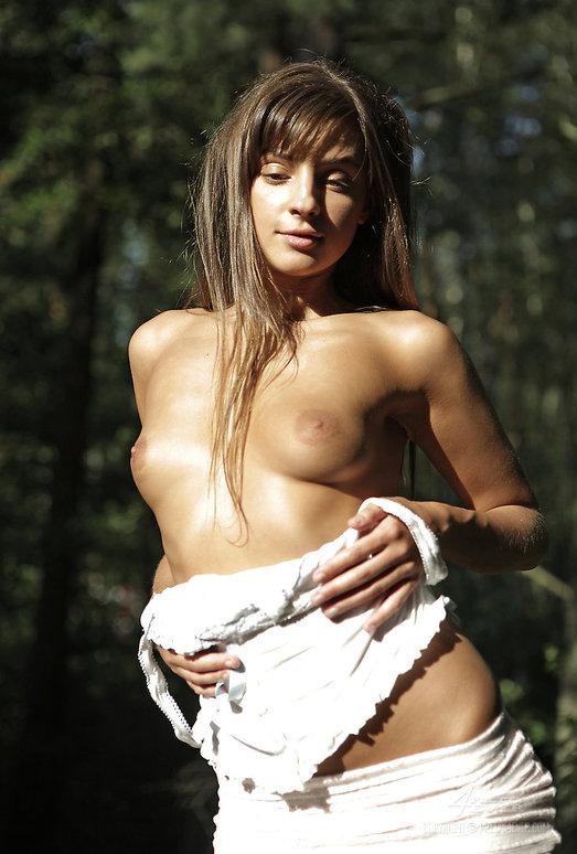 Russian Teen Model Talia Outdoor