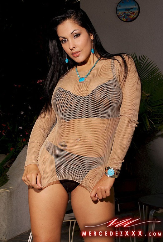 Nina Mercedez Fish Net Baby