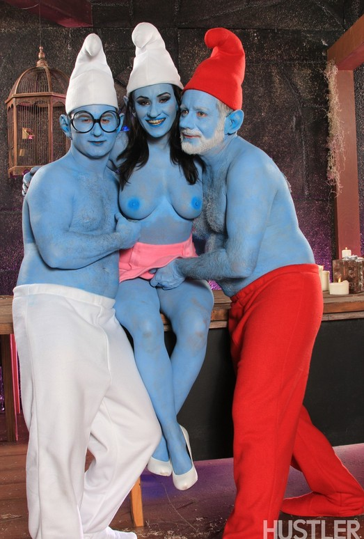 Charley Chase - This Aint Smurfs XXX