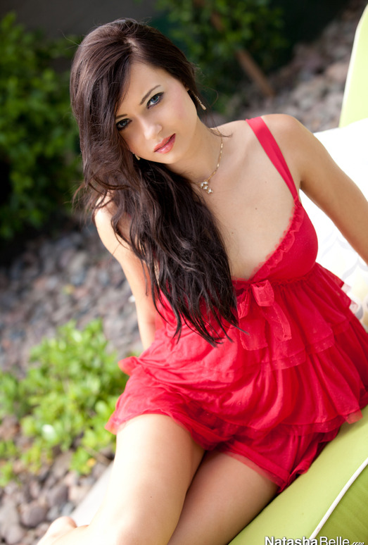 Natasha Belle - Red Dress