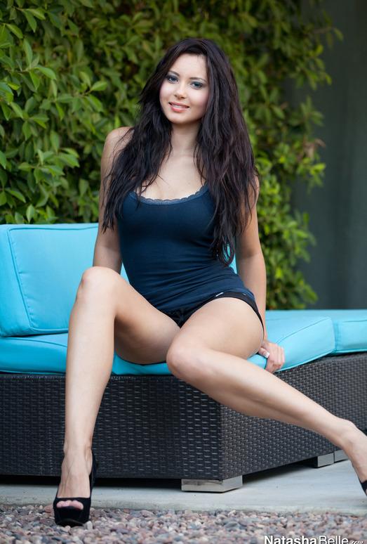 Natasha Belle - Blue Couch