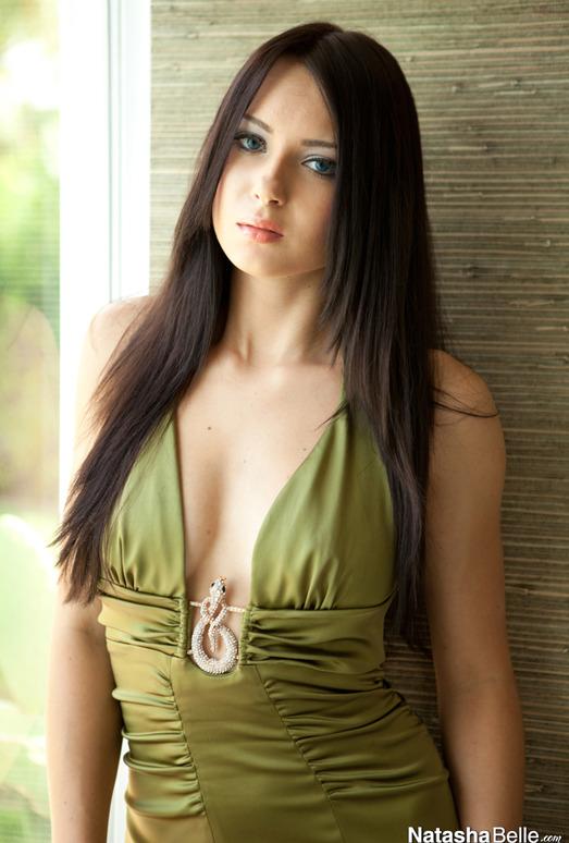 Natasha Belle - Green Dress