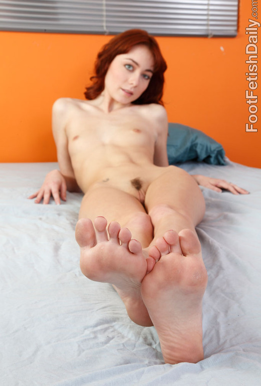 Zoe Voss Gets Her Toes Sucked and Gives a Footjob