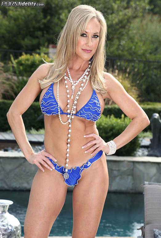 Poolside Passion - Brandi Love