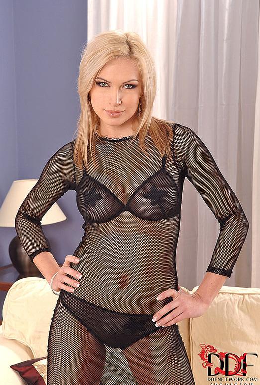 Angela takes off her slutty underwear