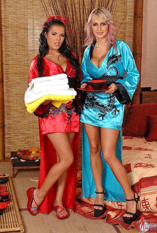 Jannete & Jasmine Black