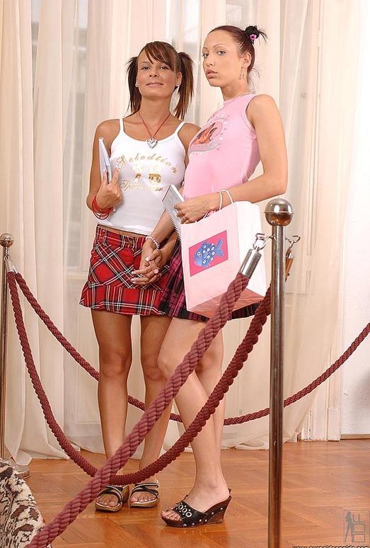 Lucy Lux & Victoria Dark - Euro Girls on Girls
