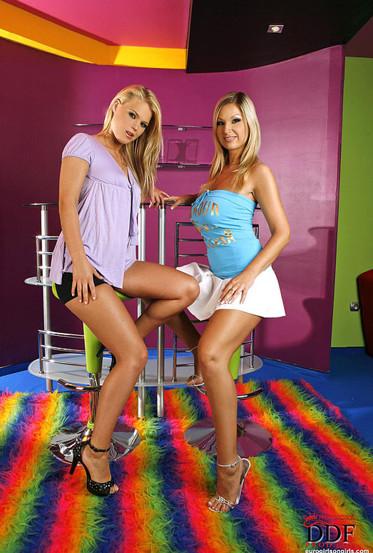 Carol & Trisha - Euro Girls on Girls