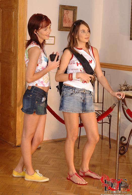 Nikita & Sugar Baby - Euro Teen Erotica