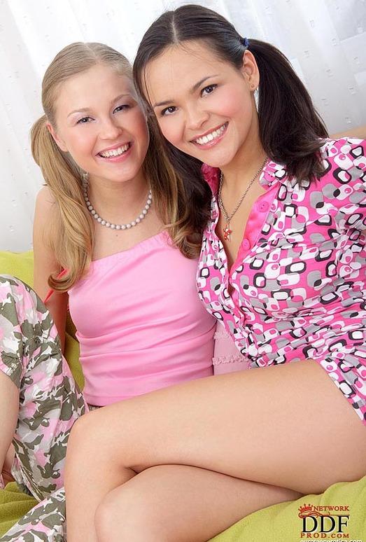 Abigail & Barbamiska - Euro Teen Erotica
