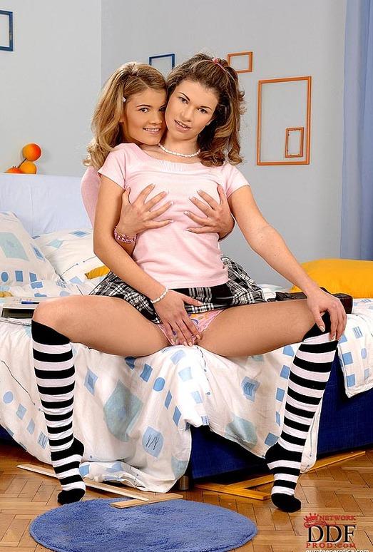 Kimberly & Virginee - Euro Teen Erotica